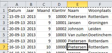 Draaitabellen in Excel basis 03 - Excel 2010