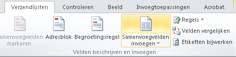 Etiketten maken in Word 2010 09
