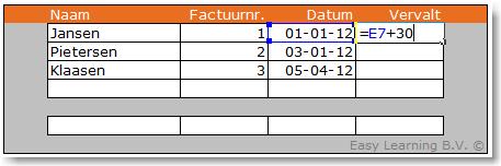 Excel formule vaste waarde uit ander werkblad 02
