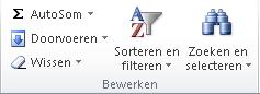 Filters toevoegen in Excel 03
