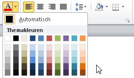 Kleuren Exact instellen in Word 01