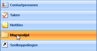 Meerdere mappen contactpersonen Outlook 01