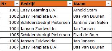 Ontdubbelen in Excel 01