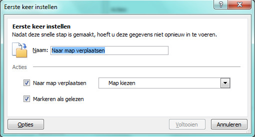 Outlook archiveren met snelle stappen 06 - Outlook 2010