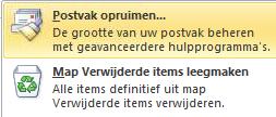 Postvak Outlook opruimen 03