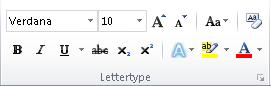 Tekst in Word 2010 onzichtbaar 04