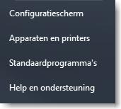 Toetsenbord wisselen configuratiescherm 01