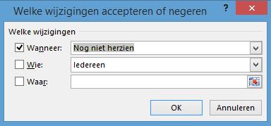 Wijzigingen bijhouden in Excel accepteren 03