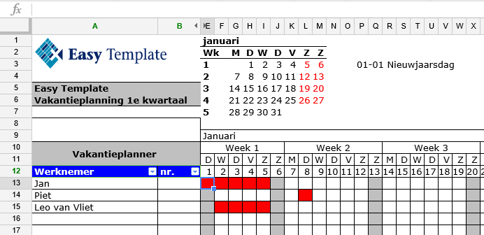 bovenkant vastzetten in Google spreadsheets 01